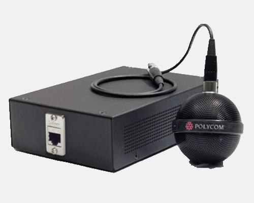 Polycom HDX悬挂式麦克风阵列 先进易用的多点会议平台