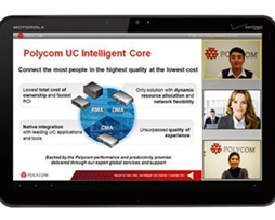 Polycom  Mobile安卓版高端商务移动视频通信软件